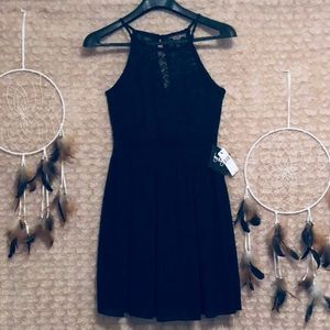 BY & BY Black Dress